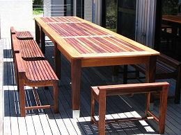 Timber Table and Chairs